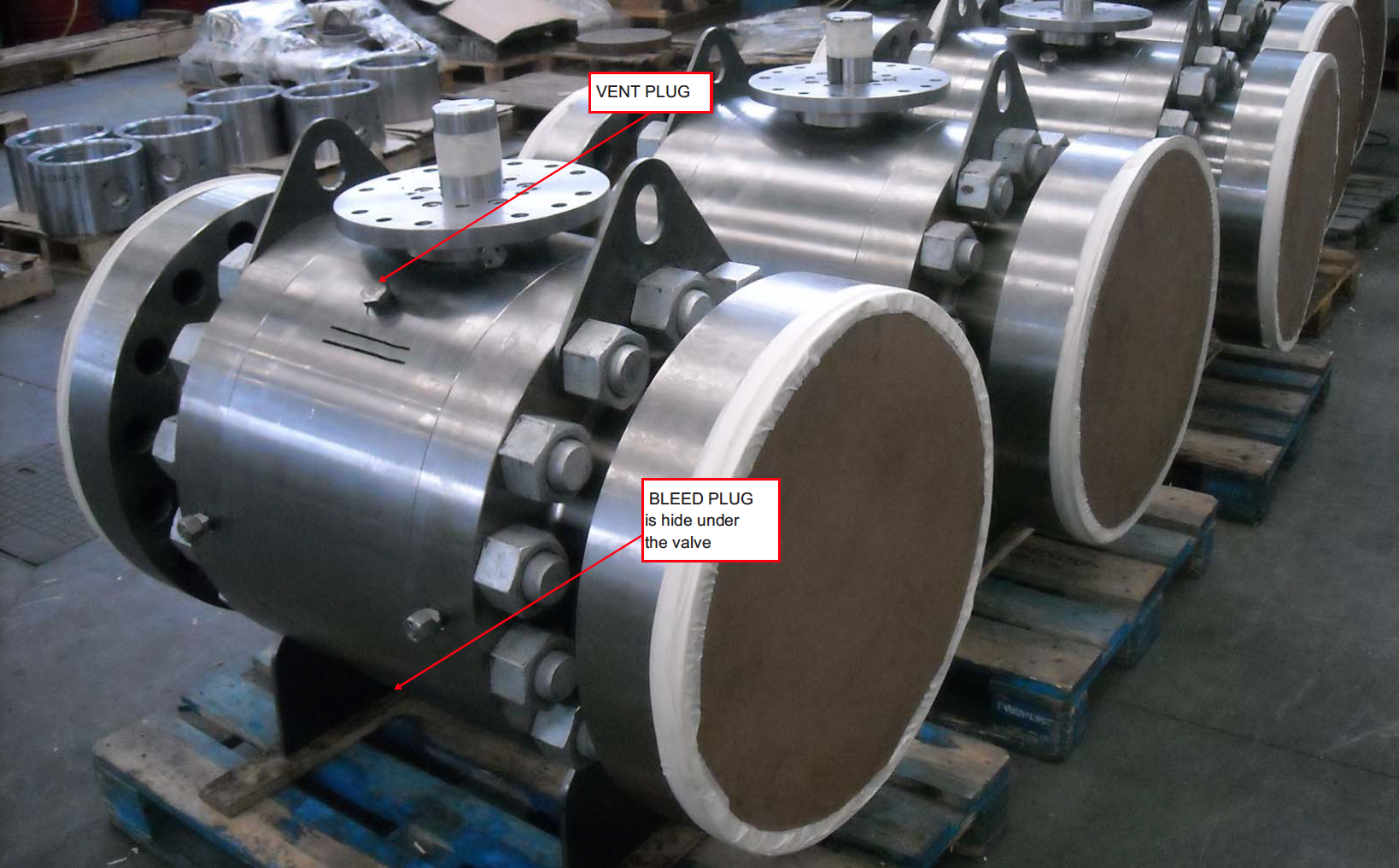 Double Block And Bleed Valves Ball Valve Type